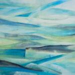 Han Sinke - Arctic II, olieverf, 140x100 cm