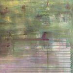 Tamar Shilo - 'Sailboats II', acryl op doek, 70 x 100 cm