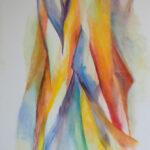Han Sinke - Warm I, olieverf, 100x180 cm