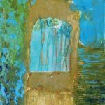 Sunny Neeter - Dreamworks, mixed media op doek, 18 x 24 cm