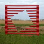 Jeltje van Houten - M2, 2010, PVC buizen, 2x2 m (hxb),